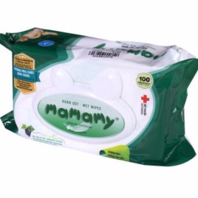 Combo 5 gói Khăn ướt mamamy 100 tờ