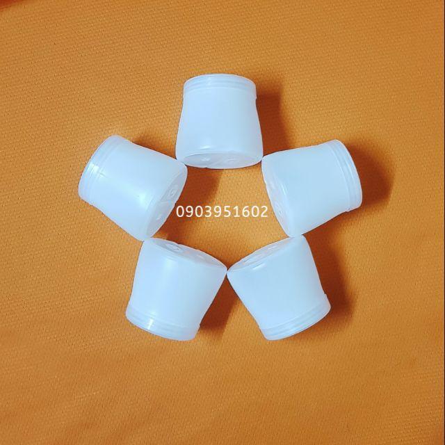 [Ảnh Thật] 50 Hủ Nhựa 120ml Đựng Sữa Chua Nếp Cẩm