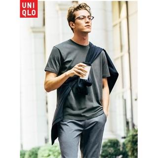 Áo thun nam Uniqlo 100% Supima cotton – Cổ tròn trơn cộc tay (COLORFUL18)