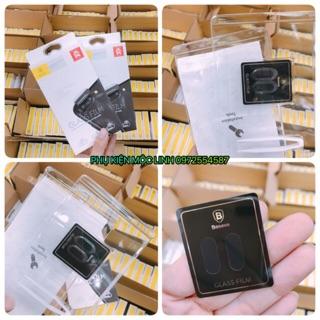 [Mã ELORDER5 giảm 10K đơn 20K] Combo 2 kinh cường lực bảo vệ camera iphone 7 plus 8plus X hiệu Baseus