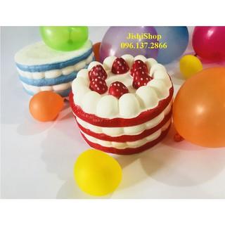 Squishy bánh kem sinh nhật các màu ngẫu nhiên sku sp EY1502