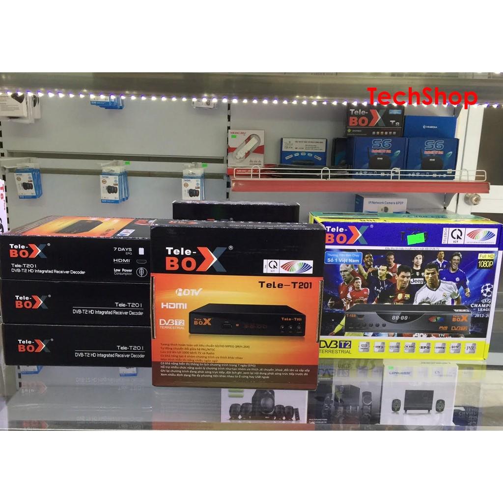 Đầu kỹ thuật số DVB T2 Tele- T201 [ Chưa có anten ]