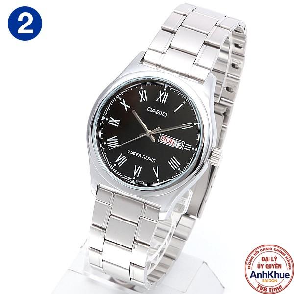 Đồng hồ nam dây kim loại Casio Standard chính hãng Anh Khuê MTP-V006 Series