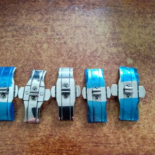 Khoá Bướm Dây Inox Đồng Hồ Đeo Tay Đủ Size 12 - 24mm