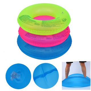 Kids Fluorescent Swim Ring Pool Swimming Aid Float Tube Inflatable Pool Tool
