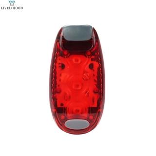 【Ready Stock】 Multifunctional Outdoor Mini Warning Light Bicycle Tail Light Backpack Light Helmet Light Running Warning Light 【LiveliHood】