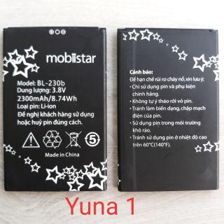Pin CHÍNH HÃNG mobiistar Lai Yuna 1 ( BL-230b ) (tặng 5 miếng dán màn hình) thumbnail