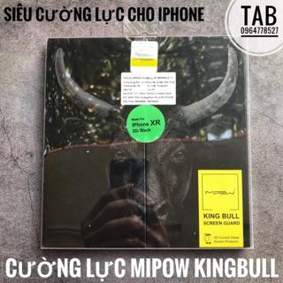 [Mã ELORDER5 giảm 10K đơn 20K] Cường Lực MiPow Kingbull 3D Glass Screen Protector cho iPhone