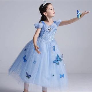 Đầm công chúa Lọ Lem cộc tay bb06