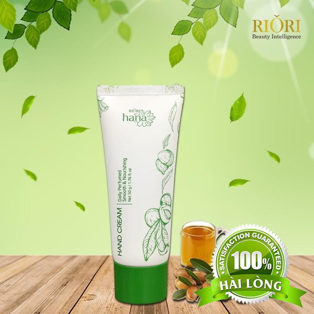 [Hàng Hãng] Kem Dưỡng Da Tay Riori Hana Hand Cream