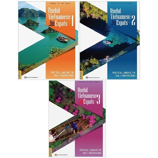 Sách MCBooks - Combo Useful Vietnamese For Expats ( trọn bộ 3 cuốn )