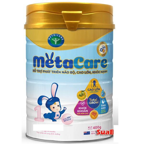 Sữa Meta Care 1 400g, metacare 1 0-6 tháng