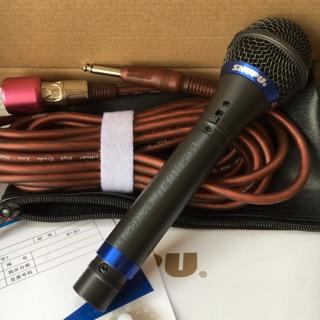Micro có dây karaoke Shupu 757.
