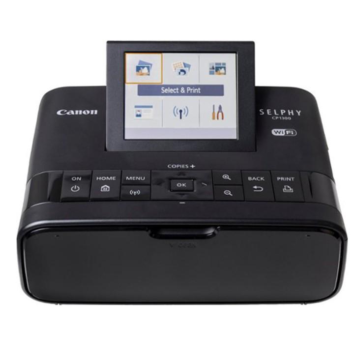 Máy in Canon CP1300 + Giấy và mực in RP108