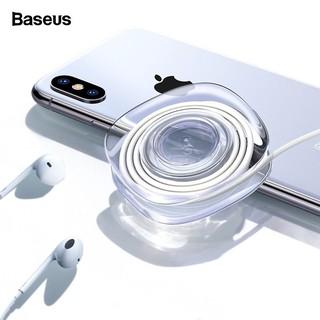 Kẹp Baseus giữ điện thoại/dây cáp Baseus hut tường/ bàn tiện dụng