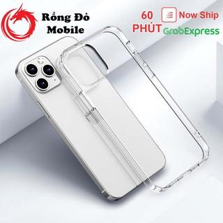[Siêu rẻ] Ốp điện thoại iphone dẻo trong suốt 6/7/8/7+/8+/X/XS/XR/XS Max/11/11 Pro Max/12/12 Pro Max không ố vàng