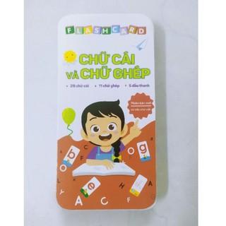 Flashcard - Bộ Thẻ Học Chữ Cái Và Chữ Ghép  42 Thẻ