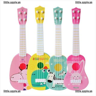 [Little] Funny ukulele musical instrument kids guitar montessori toys education gift [VN]