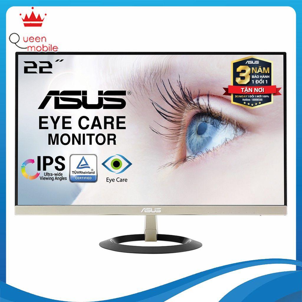 """Màn Hình Siêu Mỏng ASUS VZ229H 22"""" IPS Full HDBảo Vệ Mắt, 2 Loa - Hàng Chính Hãng"""