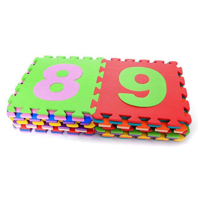 Bộ 10 Tấm Thảm Xốp Mềm Lót Sàn Ghép Hình Chữ Số – THOẠI TÂN THÀNH
