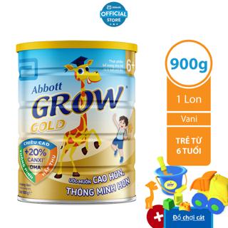 [Tặng đồ chơi xúc cát] Sữa bột Abbott Grow 6 900g