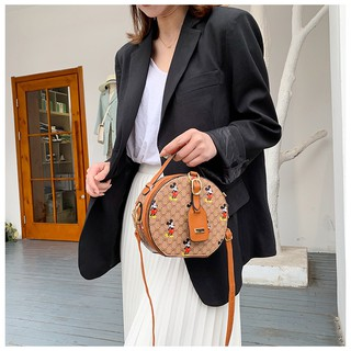 Túi tròn mini đeo chéo túi tròn chuột Mickey SATA mẫu mới nhất hàng đẹp TRONGMIC + ảnh thật