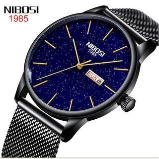 Đồng hồ Nibosi nam dây lưới 2370 fullbox