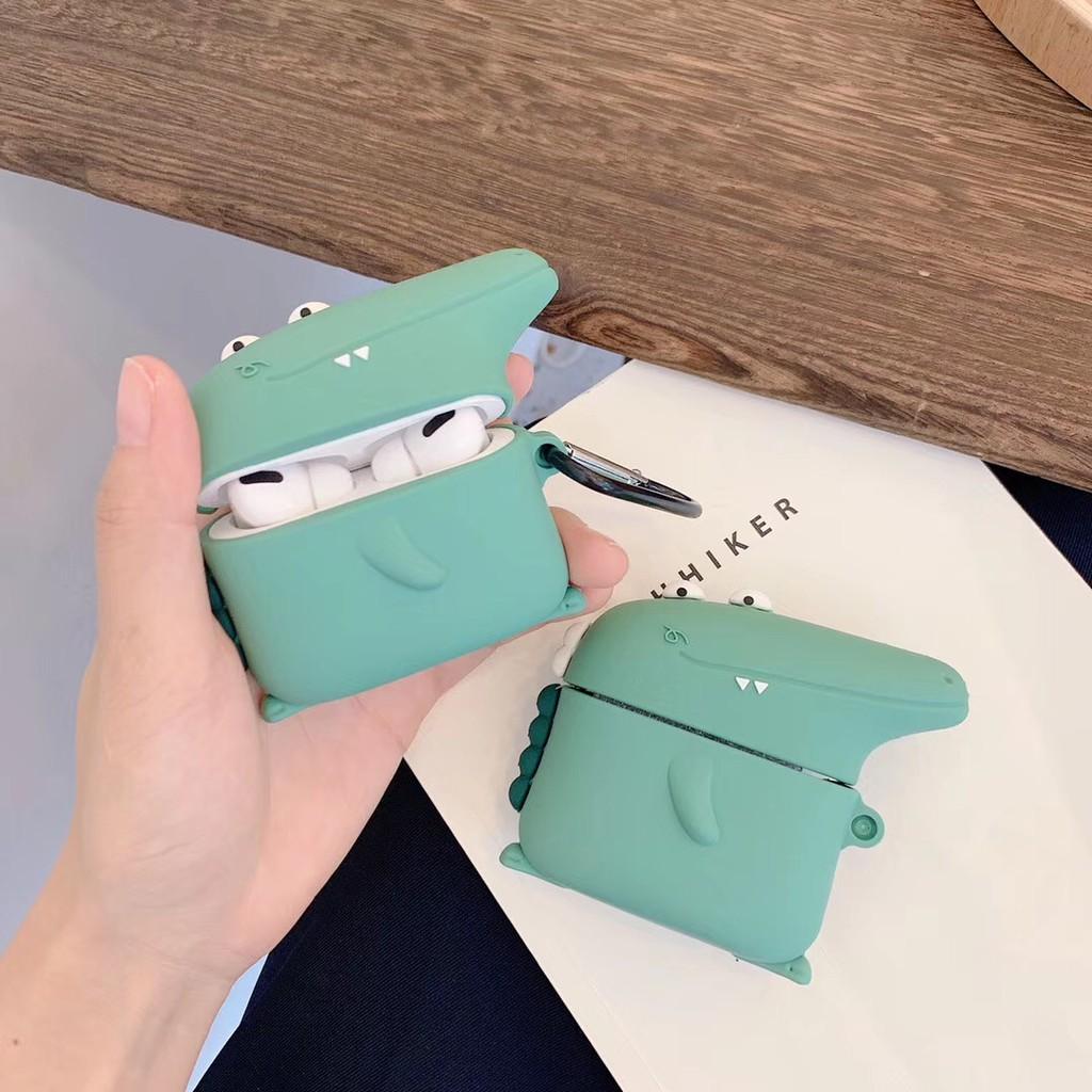 AirPods pro Case Cute 3d Dinosaur Crocodile Silicone AirPods 1 Casing AirPods 2 Case AirPods 3 Apple AirPod Soft Cover