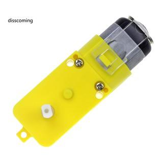 Động cơ bánh răng khung gầm bằng nhựa DC3V-6V chống can thiệp cho robot xe điều khiển thông minh thumbnail