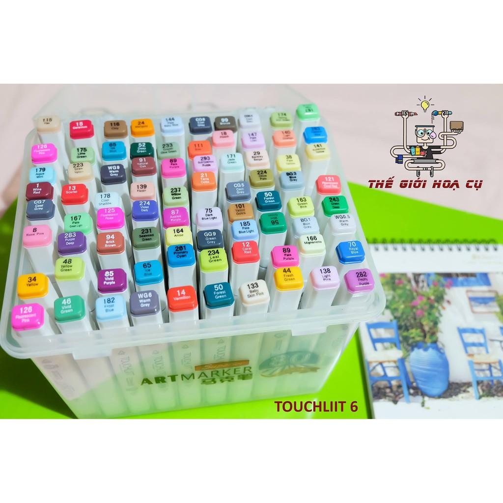 Touchliit 6 80 cây ( Hộp nhựa )