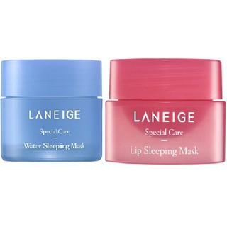 [MẪU MỚI] Combo Mặt Nạ Ngủ Môi Laneige Lip Sleeping Mask Berry + Mặt Nạ Ngủ Mặt thumbnail