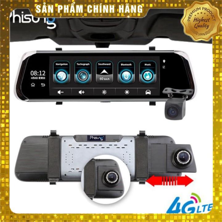 Camera Hành Trình--Gương-Lùi-FullHD-E08-E-4G-Tiếng ViệtA