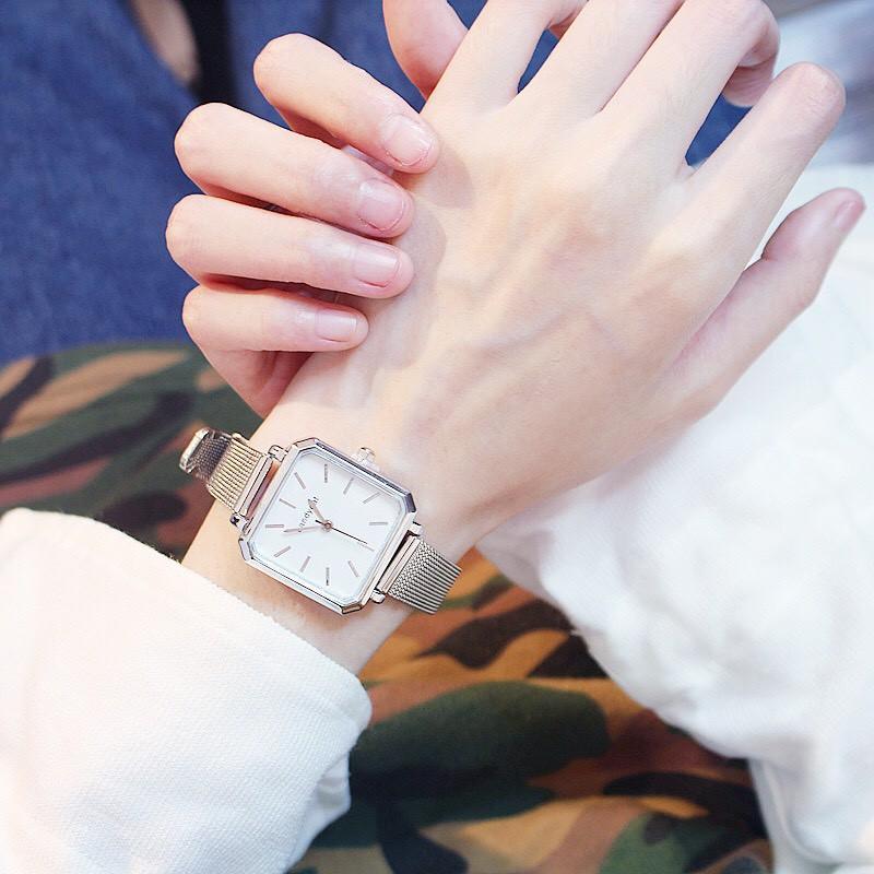 Đồng hồ đeo tay nam nữ Faconi unisex thời trang DH39 Siêu Đẹp