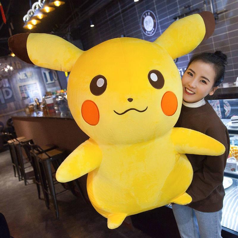 Gối búp bê đồ chơi sang trọng Pikachu trí áo