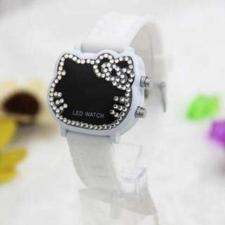 Đồng hồ điện tử đeo tay có hình Hello Kitty