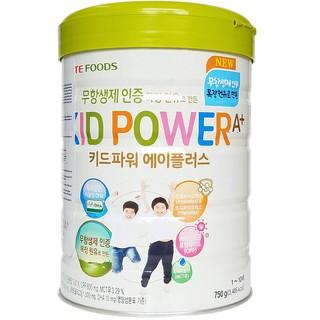 Date T1/2023 Sữa bột Kid Power ( Nhập khẩu Hàn Quốc ) lon 750g