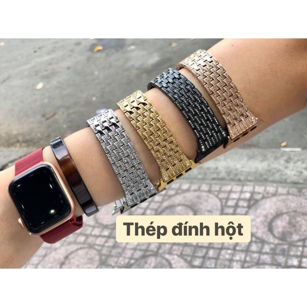 Dây đồng hồ Apple Watch bản thép cực sang trọng