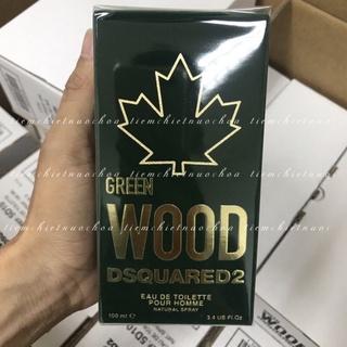 Nước hoa nam Dsquared2 Green Wood Pour Homme edt (xanh) 100ml Fullseal thumbnail
