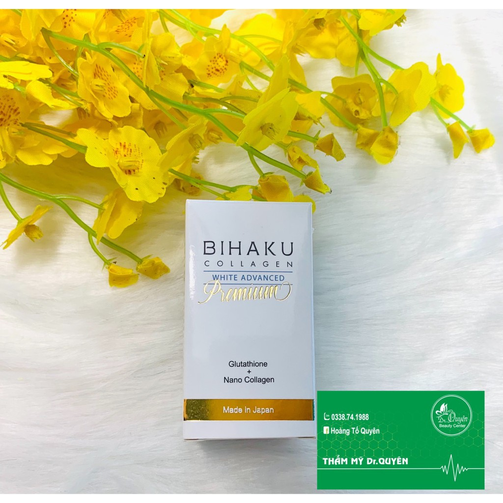 Viên uống bổ sung Collagen, trắng da Bihaku Collagen nhập khẩu Nhật Bản thumbnail