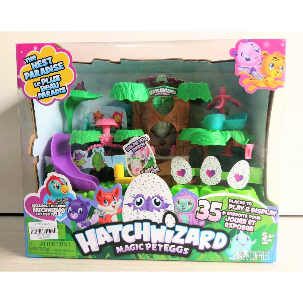 Đồ chơi cây ấp trứng Hatchimals – Hatchwizard D729