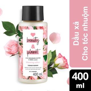 Dầu Xả Cho Tóc Nhuộm Love Beauty & Planet Blooming Colour Conditioner 400ml thumbnail