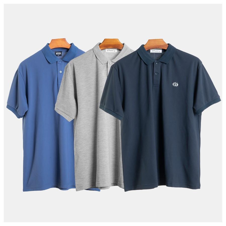 [𝐅𝐑𝐄𝐄𝐒𝐇𝐈𝐏] áo thun có cổ size lớn - áo thun polo big size 80-150kg ( hình chất - hàng thật)