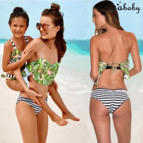 Bộ bikini liền thân trễ vai nhún bèo quyến rũ cho mẹ và bé - 22705996 , 1868359131 , 322_1868359131 , 125131 , Bo-bikini-lien-than-tre-vai-nhun-beo-quyen-ru-cho-me-va-be-322_1868359131 , shopee.vn , Bộ bikini liền thân trễ vai nhún bèo quyến rũ cho mẹ và bé