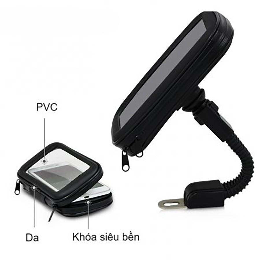 Giá đỡ điện thoại có bao chống nước size S 4.7 inch