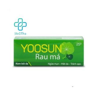 Yoosun Rau má – Hỗ trợ dịu mẩn ngứa, ngừa mụn, mát da, tránh sẹo (Tuýp 25g) [Chính Hãng]