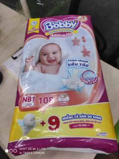 Hình ảnh [Mã FMCGHOT giảm 10% đơn từ 400K] Miếng lót sơ sinh Bobby Newborn 1-108 miếng-3