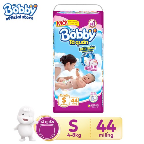 Tã quần siêu thấm Bobby S44 _ 8934755051203 - 3129843 , 1077674992 , 322_1077674992 , 191000 , Ta-quan-sieu-tham-Bobby-S44-_-8934755051203-322_1077674992 , shopee.vn , Tã quần siêu thấm Bobby S44 _ 8934755051203