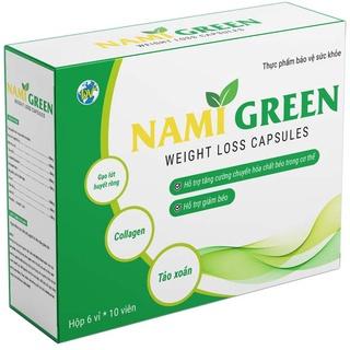 Tảo xoắn dạng viên giảm cân Nami Green 5 vỉ x 10 viên (DVH5) thumbnail