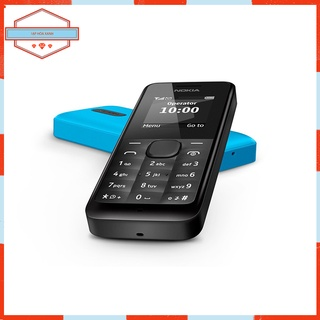 Điện Thoại Cổ Cục Gạch Pin Trâu Nokia 105 Chính Hãng Bàn Phím Số Cho Người Già thumbnail