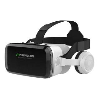 Kính thực tế ảo VR Shinecon G04BS 2021 hỗ trợ 6.7inch có tai nghe - Thấu kính bluelens chống ánh sáng xanh